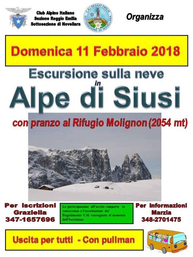 Locandina Alpe di Siusi 110218_Web
